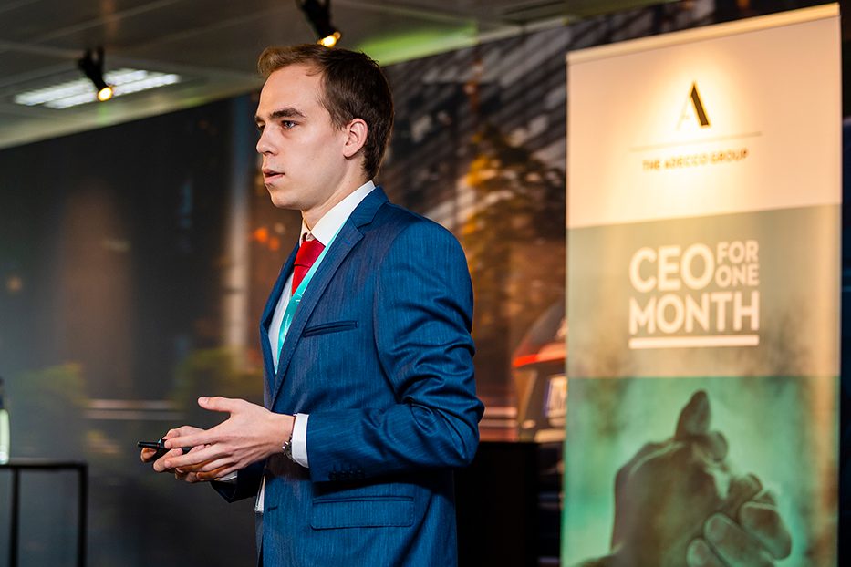 Kasper De Smaele, CEO for One Month, The Adecco Group